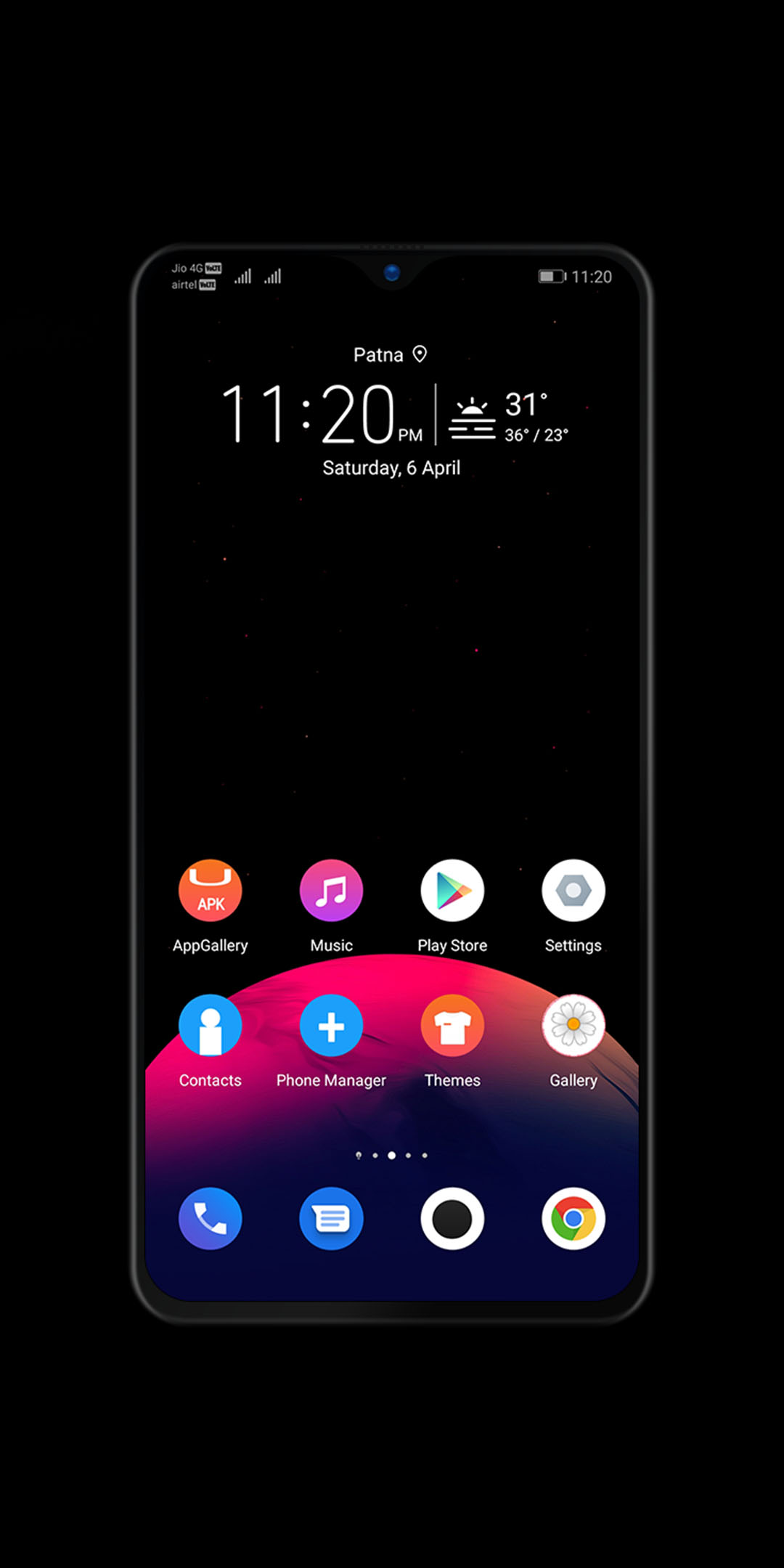 New Theme Android Q Dark Theme Now Available For Emui 5 8 9